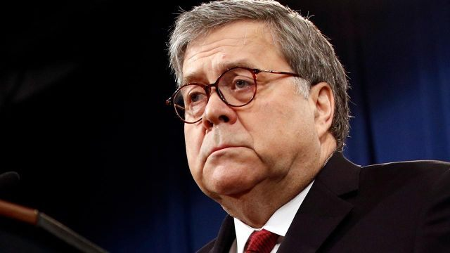 AG Barr answers lawmakers' questions on the Mueller report at a Senate Judiciary Committee hearing