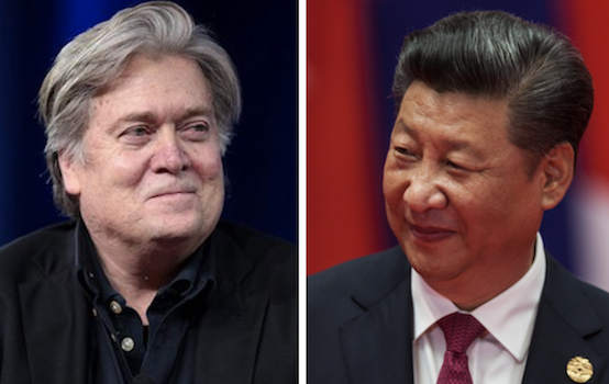 Don't Fall for Bannon's China Fear-mongering