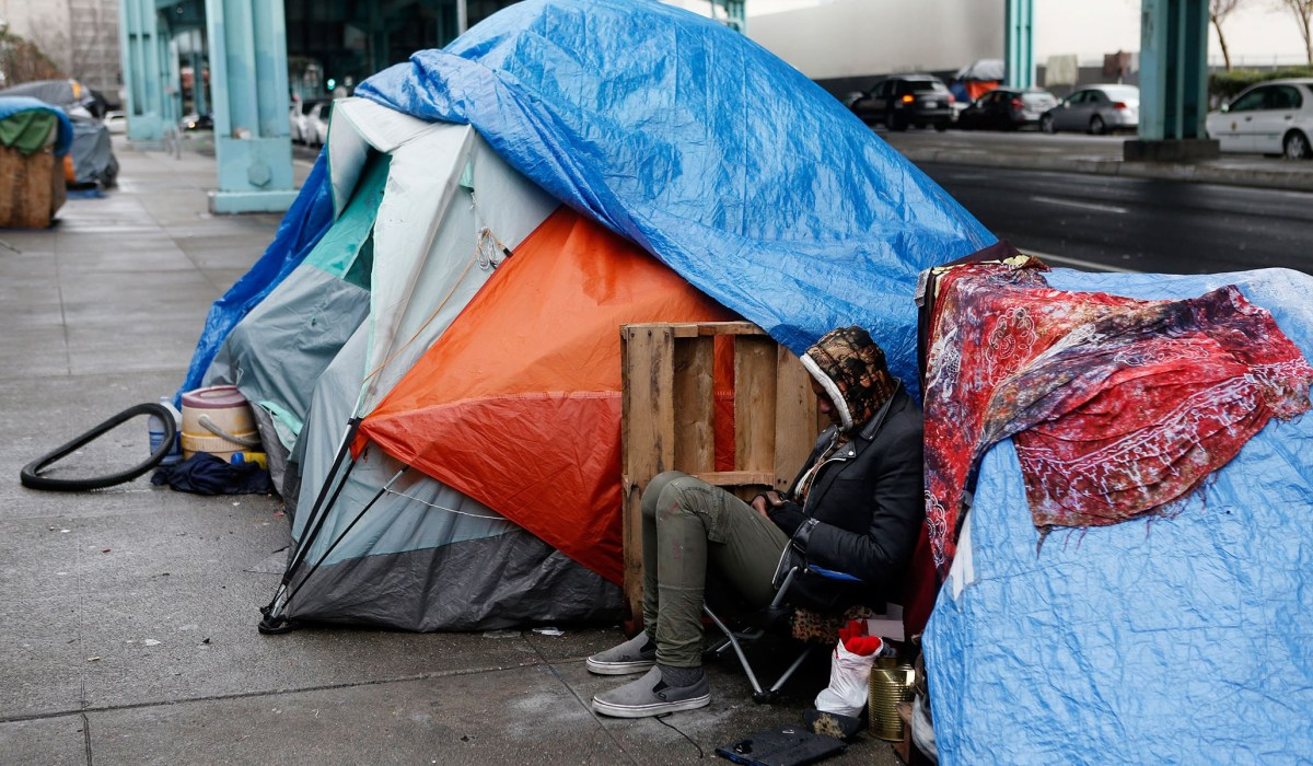 Liberals Begin to Revolt against 'Rock Stupid' Homelessness Policies