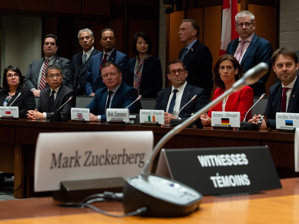 Politicians' anger at big tech on full display at International Grand Committee meeting in Ottawa