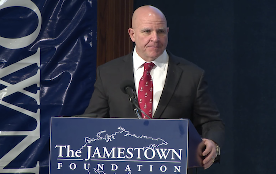 McMaster and 'Nuclear Blackmail'