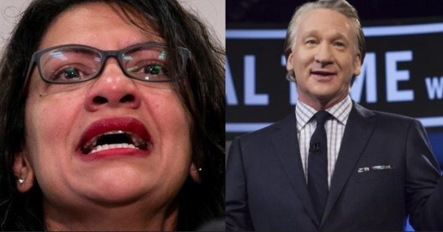 maher-shreds-'bullshit'-bds-movement,-tlaib-fires-back:-'maybe-folks-should-boycott-his-show'