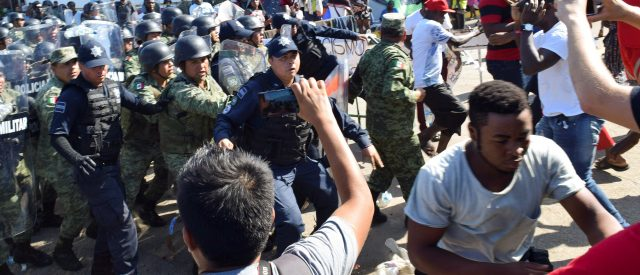 african-migrants-stuck-in-mexico-fight-authorities,-demand-passage-to-us:-report