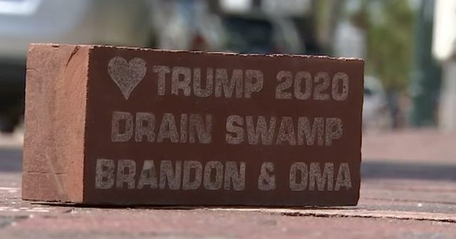 pro-trump-brick-removed-from-sidewalk-after-liberals-freak-out
