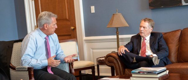 mccarthy-meets-with-us-trade-rep-robert-lighthizer-about-usmca