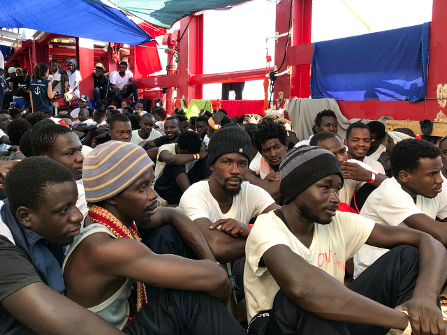 salvini:-italy-once-again-'europe's-refugee-camp'-as-leftist-government-reopens-ports