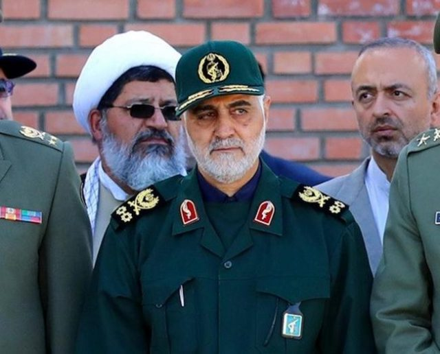 iran-says-it-thwartedsophisticated-'israel-arab'plot-to-blow-up-elite-guards-commander