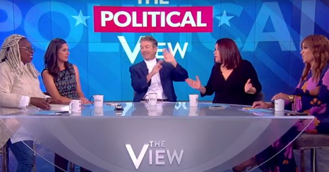 """liberal-hosts-of-""""the-view""""-push-for-war-&-socialism-in-debate-with-rand-paul"""