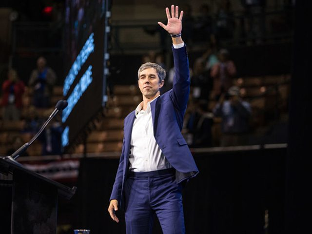 beto-o'rourke-hosts-another-counter-rally-to-donald-trump-rally-in-texas
