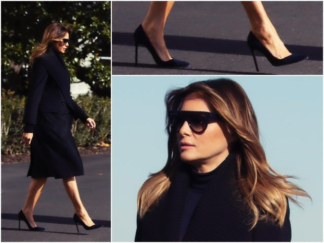 fashion-notes:-melania-trump-touchdowns-in-burberry,-celine-for-lsu-alabama-football-game
