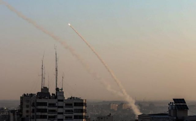 """israel-""""preparing-for-war""""-as-150-rockets-fired-from-gaza"""