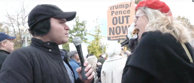 here-are-scenes-from-an-anti-trump-protest outside-the-white-house