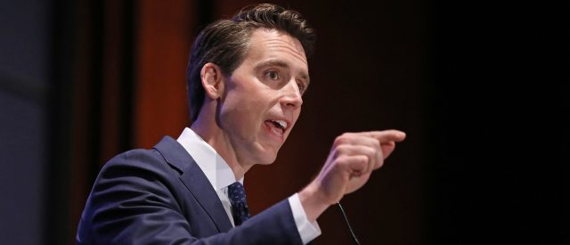 sen.-josh-hawley-is-taking-a-more-literal-approach-to-draining-the-swamp:-moving-the-bureaucrats-to-the-heartland