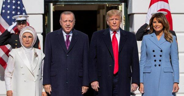 """trump-receives-erdogan-at-white-house:-""""our-trade-relations-are-very-good"""""""