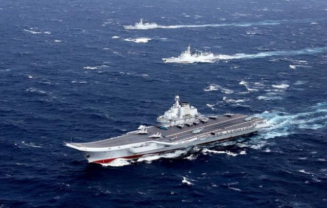 china-sails-carrier-strike-group-through-taiwan-straight-after-us-navy-transitedcontested-waters