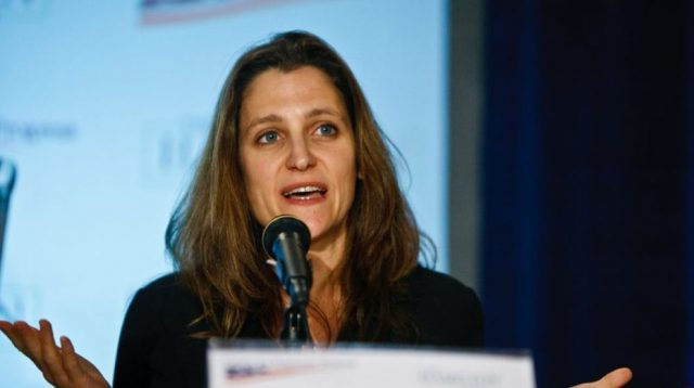 a-sea-change-for-canada-foreign-policy-as-freeland-is-replaced-by-a-pro-chinese-politico