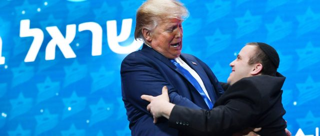 band-members-with-disabilities-rush-to-embrace-trump-at-israeli-conference
