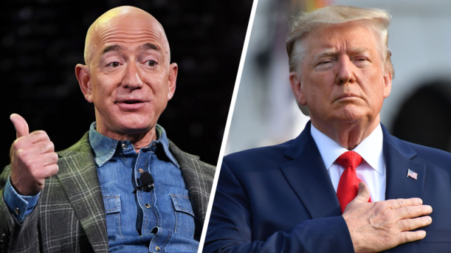 bezos-publishes-afghan-docs-after-amazon-loses-defense-contract-to-microsoft-(video)