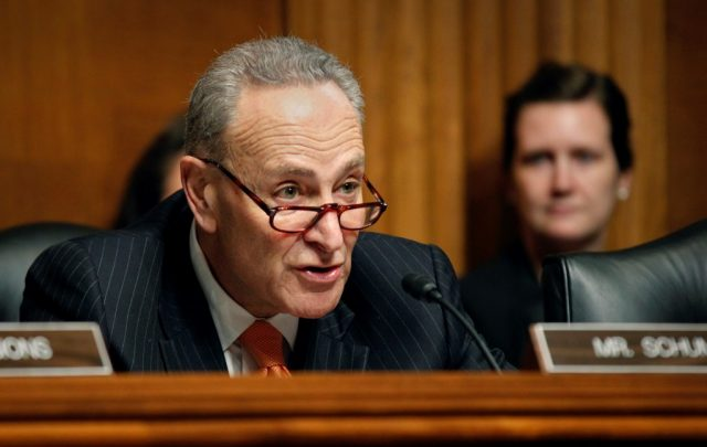 schumer-panned-clinton-impeachment-testimony-as-'theater,'-now-seeks-4-witnesses-in-trump-trial
