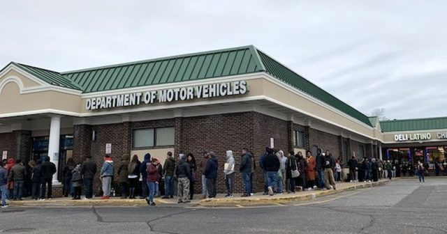 illegal-aliens-pack-new-york-dmvs-after-state-allows-driver's-licenses-for-all