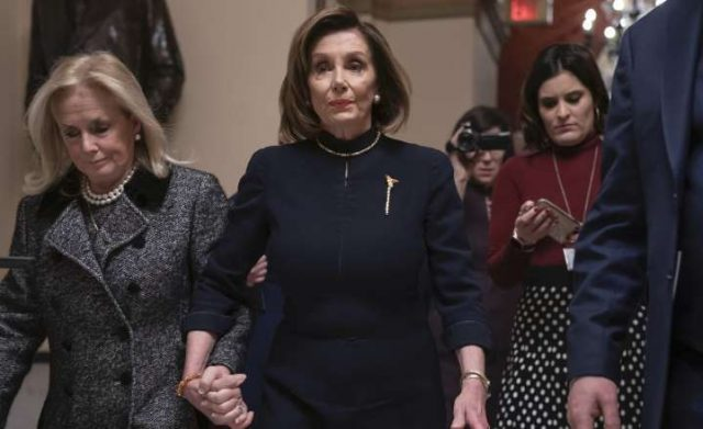 pelosi-wears-all-black-on-'somber-day'-of-impeachment,-'feels-sad'
