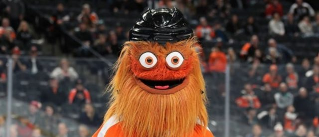 philadelphia-flyers-mascot-'gritty'-under-investigation-by-police-for-assault