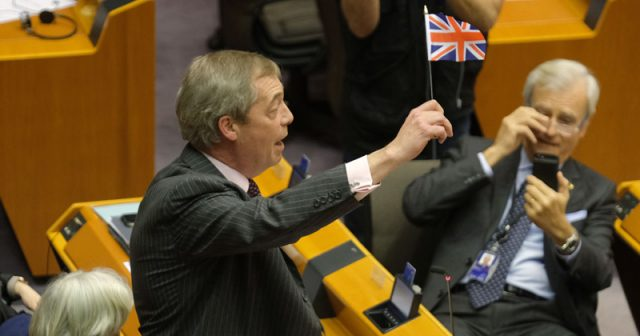 watch:-brexit-party-leader-nigel-farage's-mic-cut-during-fiery-speech-to-european-parliament