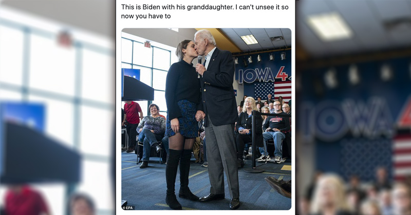Can T Unsee It Biden Kisses Granddaughter On Lips During Rally Verity Weekly