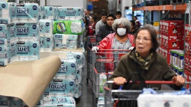 surging-grocery-comps-could-rocket-into-double-digits-as-worried-quarantiners-lock-themselves-down