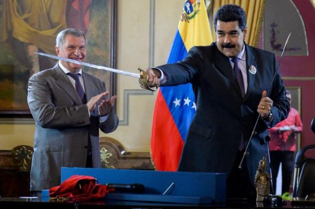 rosneft-abruptly-exits-venezuela,-sellsassets-to-russian-state,-amid-us-squeeze-on-maduro