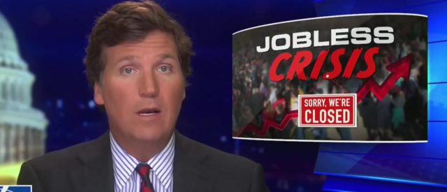 'demented':-tucker-carlson-blasts-chad-wolf,-calls-on-trump-to-end-visa-programs-that-will-take-american-jobs-during-crisis