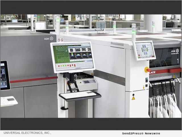 news:-universal-electronics,-inc.,-invests-in-new-manufacturing-equipment