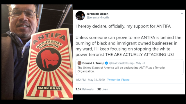 minnesota-attorney-general-keith-ellison-tries-to-explain-away-photo-of-him-holding-antifa-handbook,-makes-excuses-for-son's-public-support-for-the-terrorist-organization