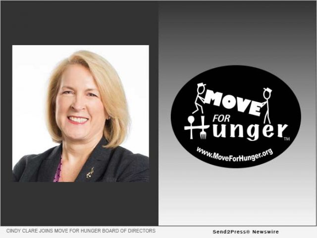 news:-cindy-clare-joins-move-for-hunger's-board-of-directors