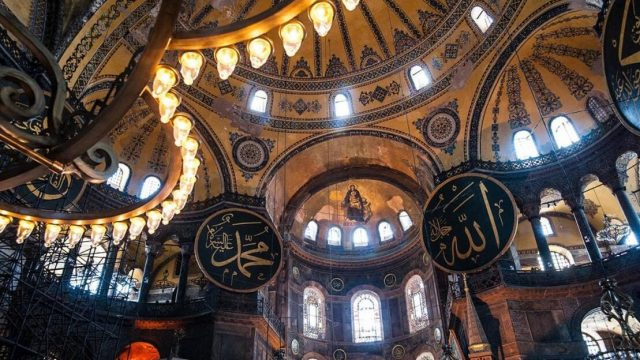 istanbul-moves-towards-islamic-nationalism-as-hagia-sophia-is-redesignated-a-mosque-[video]
