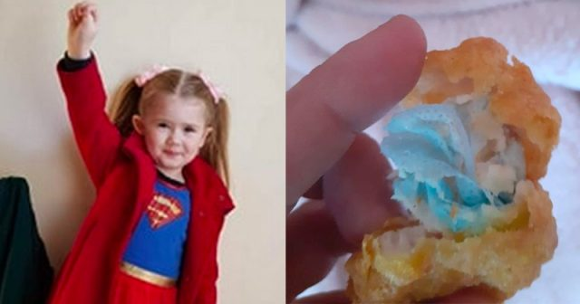 six-year-old-chokes-on-face-mask-baked-into-mcdonald's-chicken-nugget
