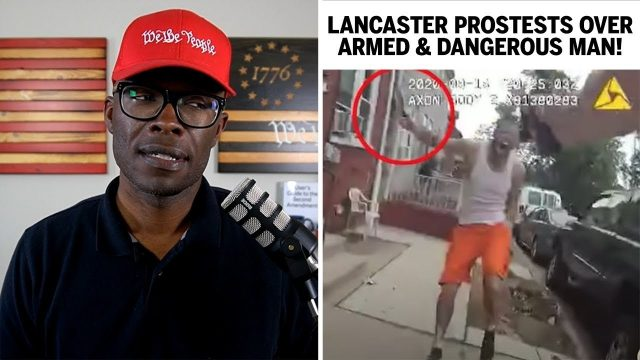lancaster-protests-over-man-armed-with-knife-shot-by-police!
