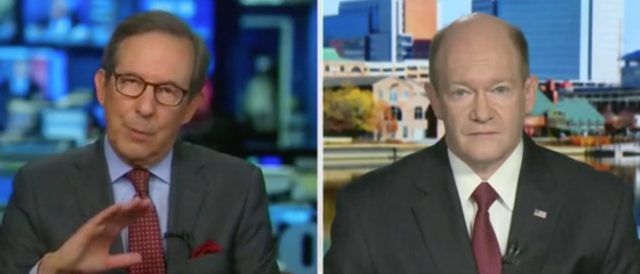 'you're-not-being-straight-with-me':-chris-wallace-challenges-chris-coons-for-changing-the-definition-of-court-packing