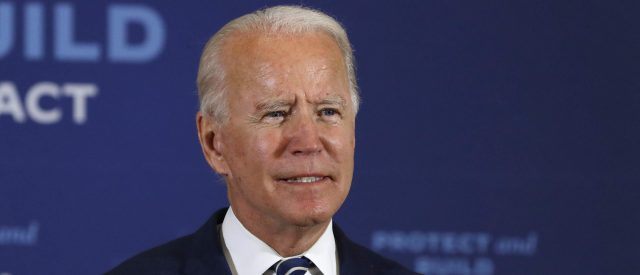 'trans-lives-matter':-joe-biden-again-pledges-to-sign-bill-that-would-force-male-athletes-into-girls'-sports