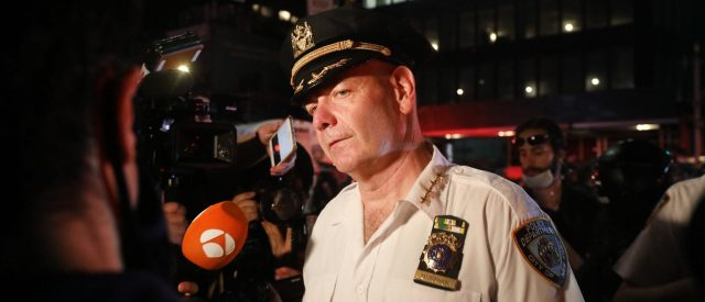 nypd-will-station-officers-at-every-polling-location,-but-doesn't-expect-protests-the-next-two-weeks