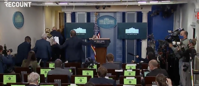chaos-erupts-as-vice-president-pence-walks-out-of-press-briefing