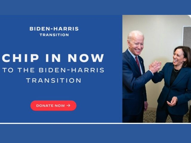 biden-crowdsourcing-money-for-transition-as-standoff-with-trump-continues
