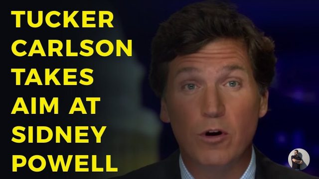 tucker-carlson-criticizes-sidney-powell,-challenges-her-to-come-on-his-show
