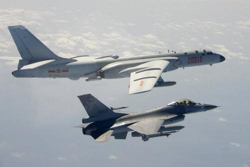 """chinese-bombers-carried-out-""""simulatedattack""""-on-uss-roosevelt-carrier-near-taiwan"""