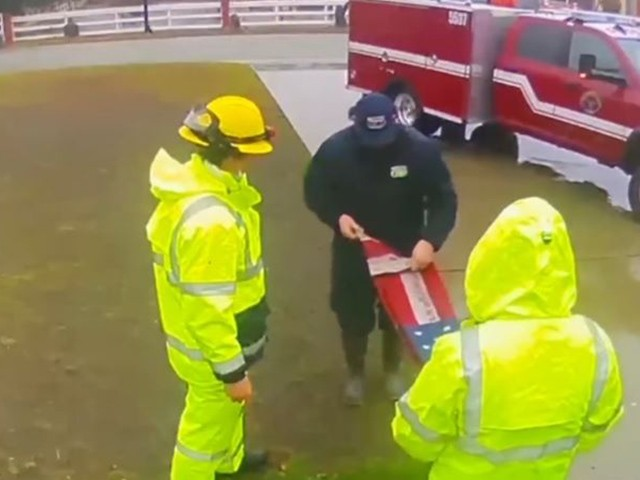 watch:-ca-firefighters-rescue-american-flag-that-fell-due-to-high-winds