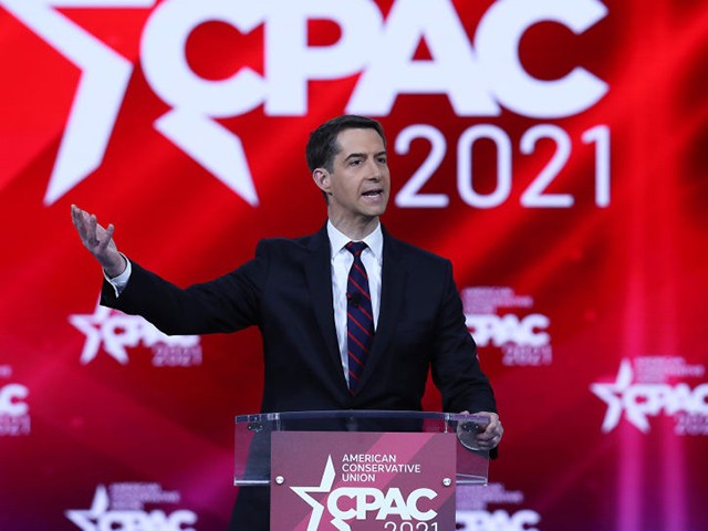 exclusive-—-tom-cotton-at-cpac:-'republicans-need-to-pursue-the-america-first-agenda'