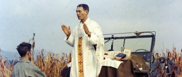 body-of-catholic-army-chaplain,-korean-war-medal-of-honor-recipient-recovered-after-70-years