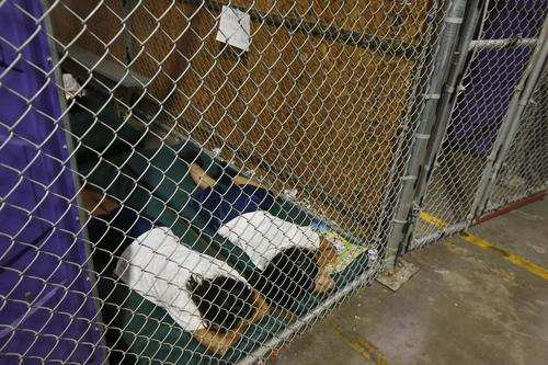record-number-of-migrant-children-sitting-in-biden's-border-patrol-'cages'
