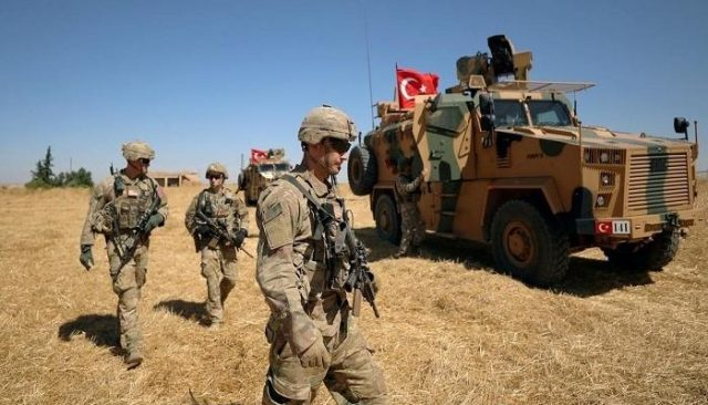 """4-civilians-were-wounded-by-the-turkish-army-fire-in-the-countryside-of-""""qamishli""""."""