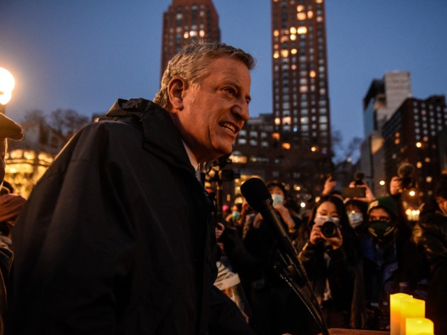 report:-nyc-mayor-bill-de-blasio-heckled-during-vigil,-anti-asian-hate-protest